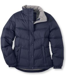 L.L.Bean Goose down jacket (provides protection to -25) I would like bright navy or plum. $99