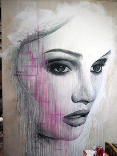 Urban art. Graffiti.  v/Flickr.