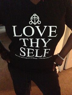 Love Thy Self Fitted Women's Tee - ShopUnitees.com