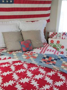 Great antique quilts.