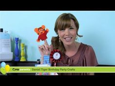 Learn how to make trolley tea box favors and Daniel Tiger finger puppets for your little tiger's birthday by watching this tutorial from @Patti Stamp Parents!