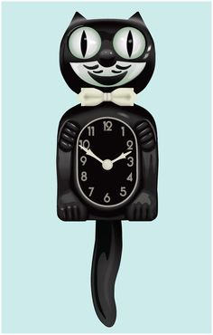 Kit Cat Clocks On Pinterest Vintage Cat Kitty Cats And