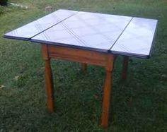 enamel top kitchen table $65