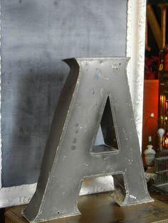 Vintage Metal Letter