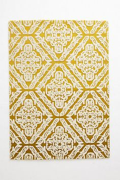 Arabesque Rug #anthropologie in blue...