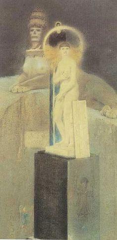 Fernand Knopff-  La Vice Supreme