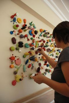 have students make a miro inspired sculpture from clay?  balance lesson.