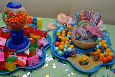 Bubble Guppies Candy Table