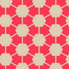 patternbase:    Hexagon print