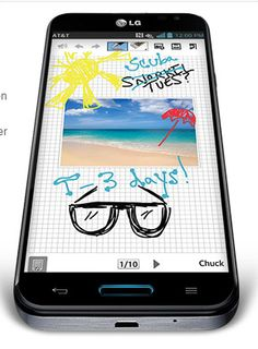 The LG Optimus G Pro for AT has some cool features like QuickMemo