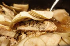 apple chicken crock pot