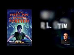 IT'S THE FIRST DAY OF SCHOOL...FOREVER by R.L. STINE. Everything goes wrong for eleven-year-old Artie on his first day at Ardmore Middle School, from the moment his alarm goes off until the next morning, when everything is repeated exactly the same way.  Official trailer created by MacMillan Children's Publishing.