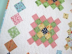 Great Granny Square Block by Lori Holt