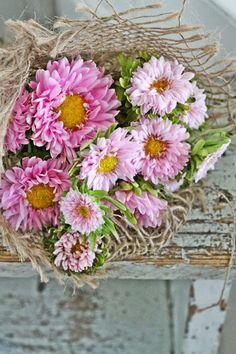 VIBEKE DESIGN burlap, pink flower, rose, favorit flower, flower forev, ana rosa, beauti, flower shopp, design