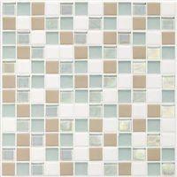 """Daltile Coastal Keystone Mosaic 12"""" x 12"""" : Trade Wind"""