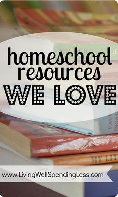 homeschool resources we love! #Homeschool