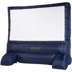 Airblown Inflatable Outdoor Movie Screen. Cool.
