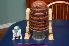 How To Make A Star Wars Cake. I feel a Challenge coming on for what ever reason I can use to make this LOL