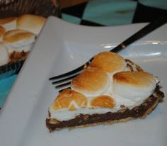 Cheater Recipe of the week  br / Indoor SMore Pie