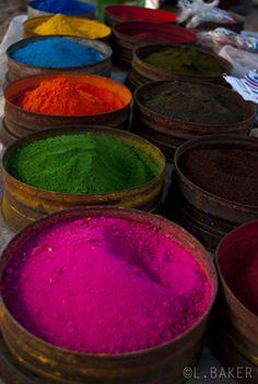 Market Dyes - Cusco, Huancavelica  Peru