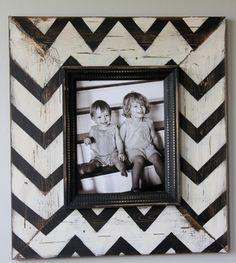 chevron frame