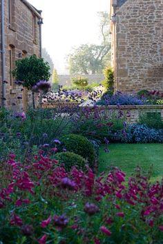 High-summer garden