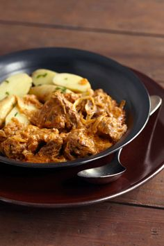 Hungarian Goulash with sauerkraut