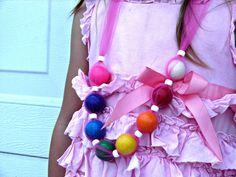 necklace with bubblegum