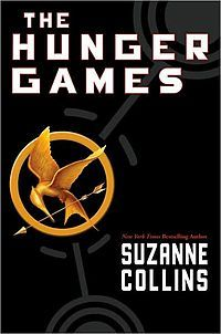 The Hunger Games by Suzanne Collins, U.S. book cover