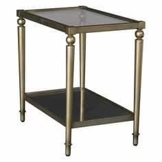 Have to have it. Hammary Elipse Rectangular Chairside Table - $200 @hayneedle.com