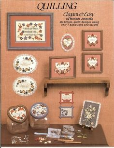 Designs in Quilling Elegant & Easy Book 2
