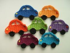 Crochet Car Tutorial in German