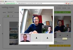 Unlimited free videoconferencing for sessions of up to 30 mins. Max 5 people for video, 10 for audio. Integrates presentation tools, document sharing and works across all platforms - www.Veeting.com