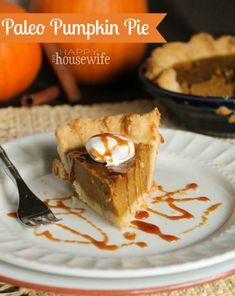Paleo Pumpkin Pie at
