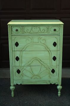 Distressed Furniture Decor on Pinterest