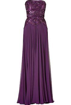 prom dressesaccessori, purpl dress, gown