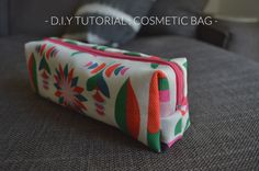 Tutorial make up bag, thanks so for sharing xox