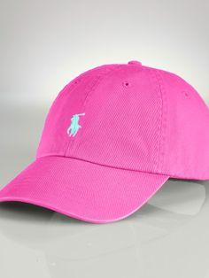 Customize your own Ralph Lauren Polo Hat with the pony or you initials. Choose you size and color.