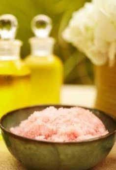 3 Homemade Mother's Day Bath and Beauty Gift Ideas - Rose sugar body polish, rose oil bath sales and Coconut and Sea Salt Body Scrub recipes