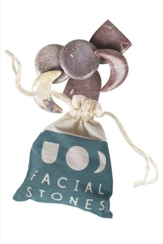 Give the gift of a face massage! This set of six face massage stones is handcrafted by artisans working with Tara Projects. The stones come bundled in a drawstring bag, making this set a lovely wellness gift. The stones are crafted from garora stone into three different shapes.