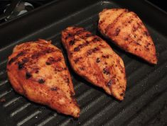 Smoked Paprika Chicken Breasts with Mediterranean Chopped Salad.