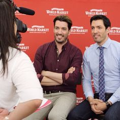 Property Brothers At Livingston NJ Cost Plus World Market Grand Opening Celeb