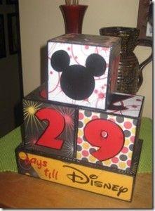 Create a Disney trip countdown