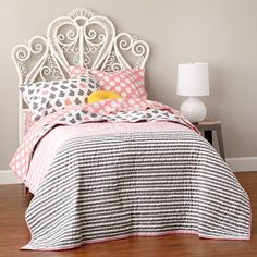 Aria Woven Headboard (White) in Beds | The Land of Nod