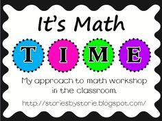 Stories By Storie: It's Math T.I.M.E.
