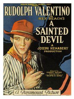 Rudolph Valentino - A Sainted Devil