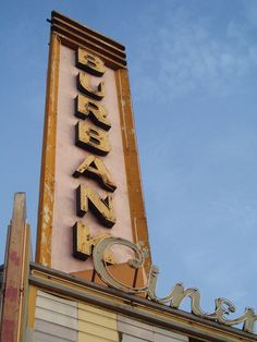 Burbank Cinema by zeruch, via Flickr