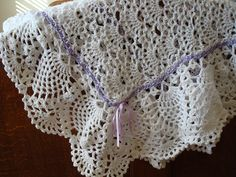 Ravelry: Exquisite Baby Afghan pattern by Terry Kimbrough
