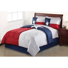 Mainstays Lone Star Bed in a Bag Bedding Set
