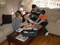 Qué divertido es leer en familia en familia, uno minuto, actividad familiar, lectura en, qué divertido, minuto al, leer en